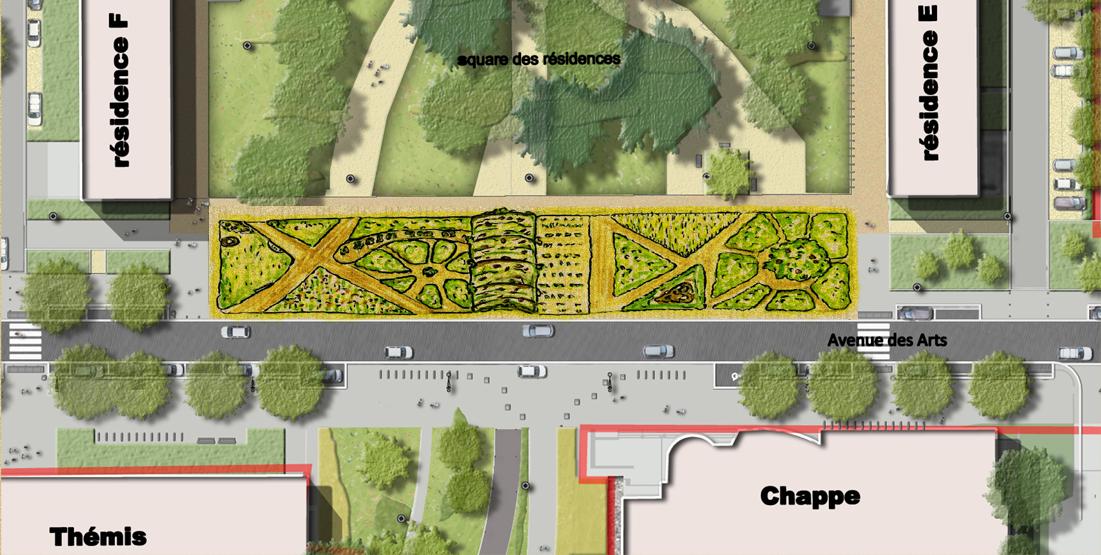 Contact le doua vert for Plan jardin